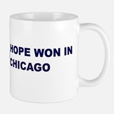 Hope Won in CHICAGO Small Small Mug