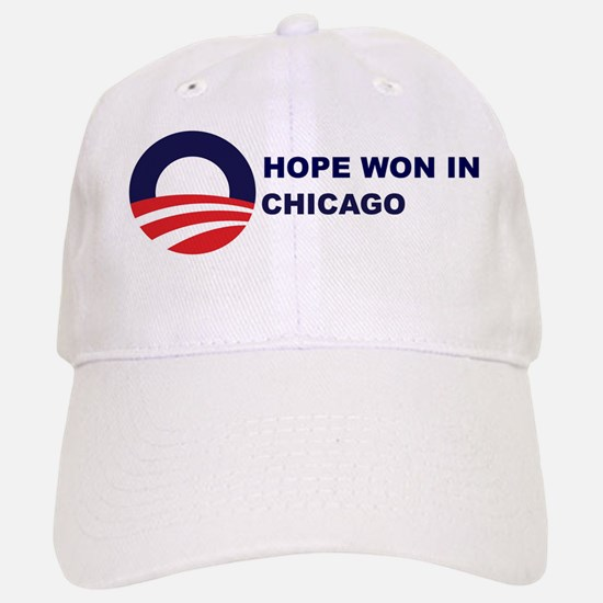 Hope Won in CHICAGO Baseball Baseball Cap