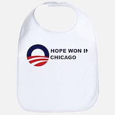 Hope Won in CHICAGO Bib