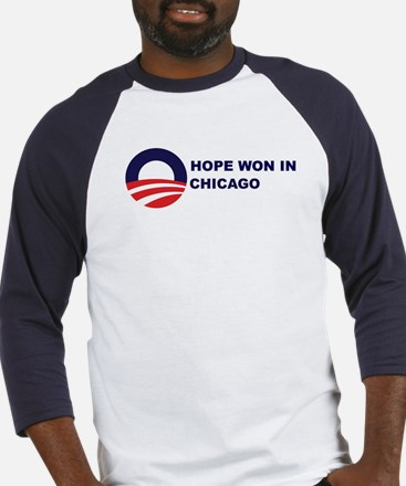 Hope Won in CHICAGO Baseball Jersey