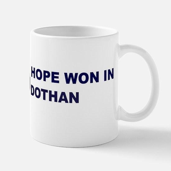Hope Won in DOTHAN Mug
