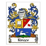 Kireev Family Crest Small Poster