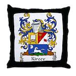Kireev Family Crest Throw Pillow