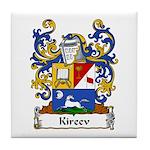 Kireev Family Crest Tile Coaster