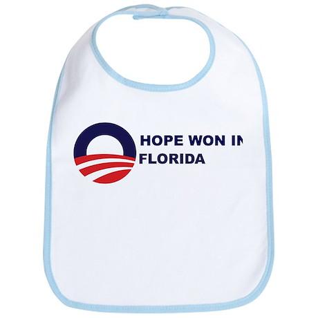 Hope Won in FLORIDA Bib