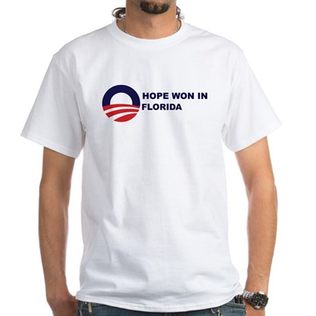 Hope Won in FLORIDA White T-Shirt