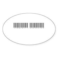 Community Organizer Oval Sticker (10 pk)