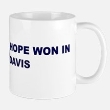 Hope Won in DAVIS Mug