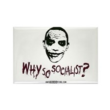 Why so socialist? Rectangle Magnet (100 pack)