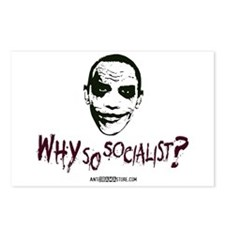 Why so socialist? Postcards (Package of 8)
