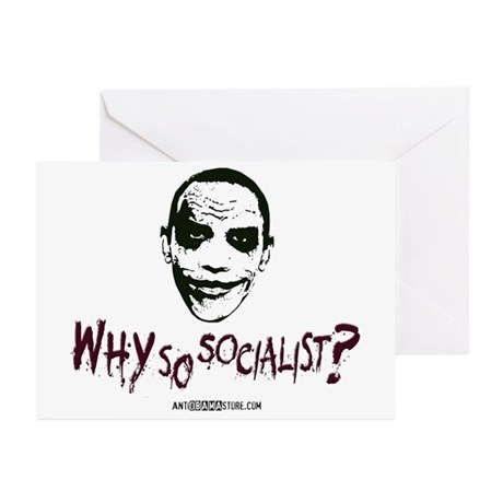 Why so socialist? Greeting Cards (Pk of 20)