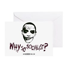 Why so socialist? Greeting Card