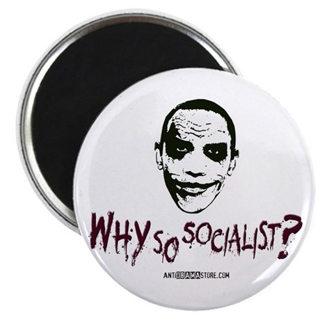 """Why so socialist? 2.25"""" Magnet (100 pack)"""