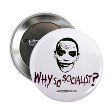 """Why so socialist? 2.25"""" Button (10 pack)"""
