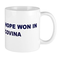 Hope Won in COVINA Mug
