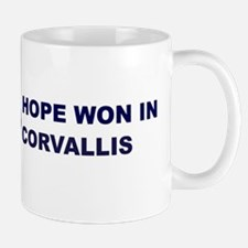 Hope Won in CORVALLIS Mug