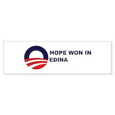 Hope Won in EDINA Bumper Bumper Sticker