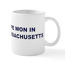Hope Won in MASSACHUSETTS Mug