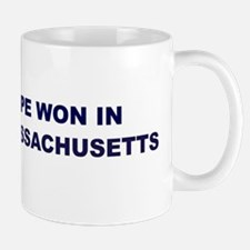 Hope Won in MASSACHUSETTS Mug