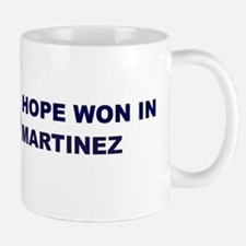 Hope Won in MARTINEZ Mug