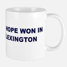 Hope Won in LEXINGTON Mug