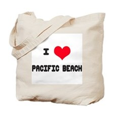 Pacific Beach Love Tote Bag