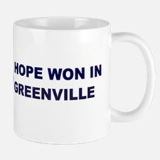 Hope Won in GREENVILLE Mug