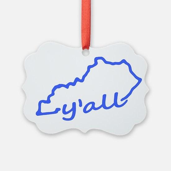 Kentucky Yall Ornament