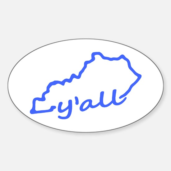 Kentucky Yall Decal