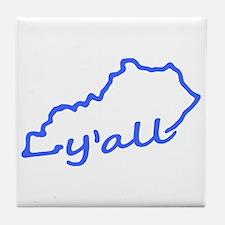 Kentucky Yall Tile Coaster