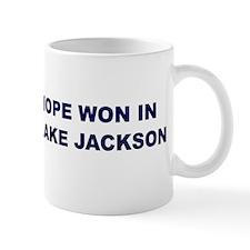 Hope Won in LAKE JACKSON Mug