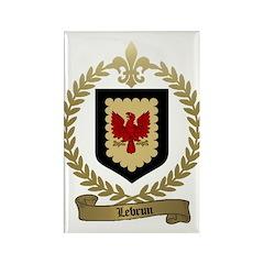 LEBRUN Family Rectangle Magnet (100 pack)