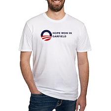 Hope Won in GARFIELD Shirt