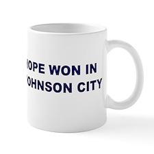 Hope Won in JOHNSON CITY Mug