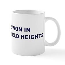 Hope Won in GARFIELD HEIGHTS Mug