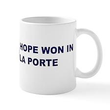Hope Won in LA PORTE Mug