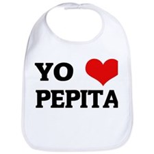 Amo (i love) Pepita Bib