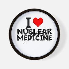 I Love Nuclear Medicine Wall Clock