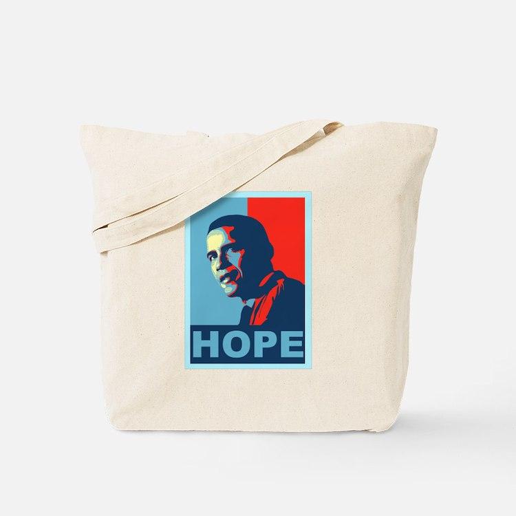 Cute Obama hope Tote Bag