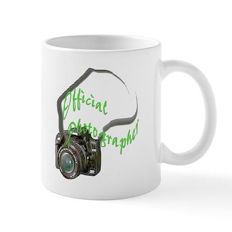 Official Photographer. Mug