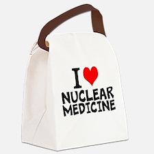 I Love Nuclear Medicine Canvas Lunch Bag