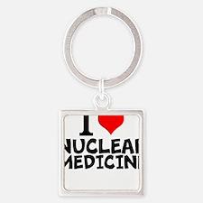 I Love Nuclear Medicine Keychains