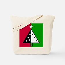 Pop Art Christmas Tree Tote Bag