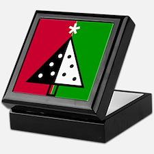 Pop Art Christmas Tree Keepsake Box