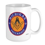 Michigan Mason Large Mug