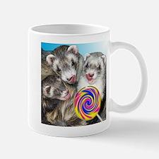Ferrets with Lollipop Mug