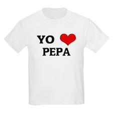 Amo (i love) Pepa Kids T-Shirt