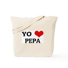 Amo (i love) Pepa Tote Bag
