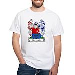 Korovkin Family Crest White T-Shirt