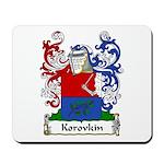 Korovkin Family Crest Mousepad